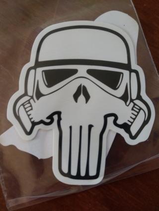 2 Star Wars stickers