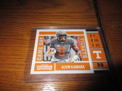 alvin kamara rookie cards..
