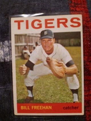 1964 Topps Bill Freehan Detroit Tigers 2nd yr