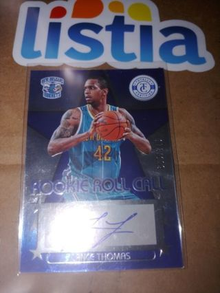 LANCE THOMAS⭐NEW ORLEANS HORNETS⭐2013 TOTALLY CERTIFIED⭐ROOKIE AUTO #/199⭐ FREE $HIPPING