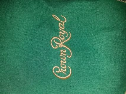 ******** BRAND NEW CROWN ROYAL SIOER SOFT BAG*********