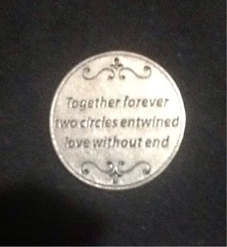 TOGETHER FOREVER COUPLES COLLECTORS COIN