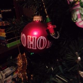 Hohoho ornament