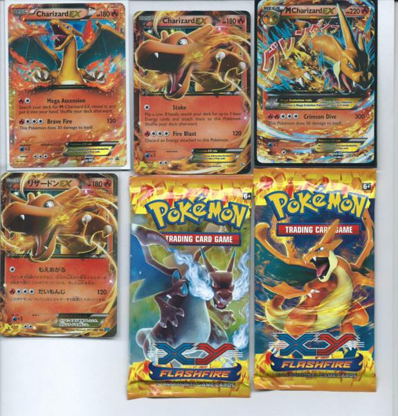 Free: Ultimate Mega Charizard EX Pokemon Card Lot Mint