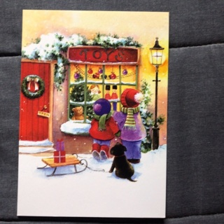 Toy Store Christmas Card (A)
