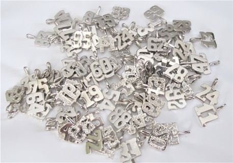 93 Silver Charms all numbers