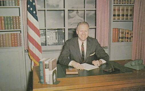 Vintage Unused Postcard: Rep Gerald R Ford Jr, 5th District, MI