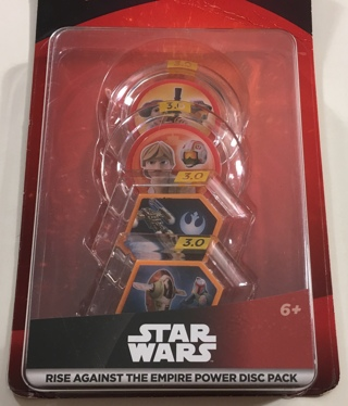 Disney Infinity 3.0 Edition: Star Wars Rise Against the Empire Power Disc Pack - Brand New Sealed!