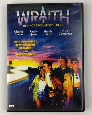 ✯The Wraith (1986) DVD ~ Out Of Print ~ FREE SHIPPING✯