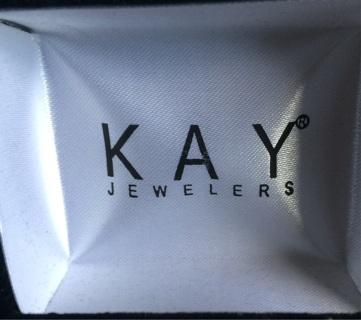 Kay jewelers beautiful hoop/diamond earrings