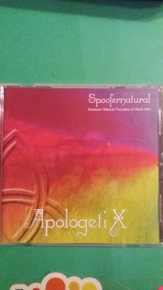 cd apologeti x  spoofernatural free shipping