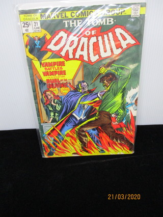 THE TOMB OF DRACULA #21