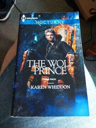 The Wolf Prince by Karen Whiddon (paperback)