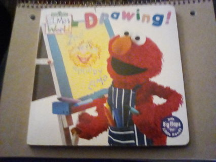 """Elmo's """"Welcome to the World"""" Drawing"""