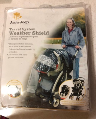 Travel System Weather Shield, New