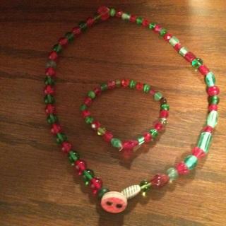 Necklace and Bracelacet
