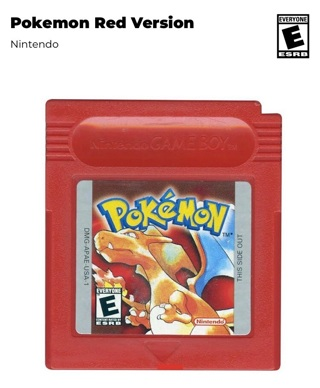 Pokemon Red- Gameboy Color-Brand New