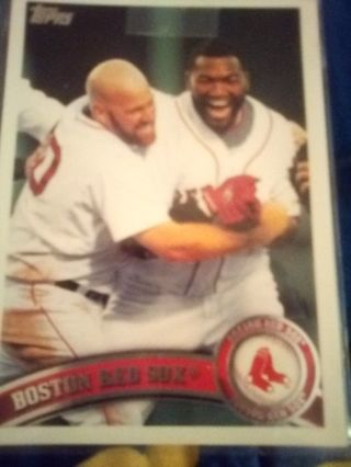 2011 Topps #324 Boston Red Sox TC