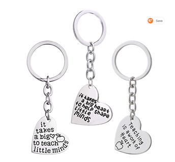 TEACHER APPRECIATION GIFT! 3PCS  Key Chain