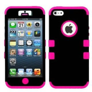 Defender Housing Case for Iphone 5 Pink