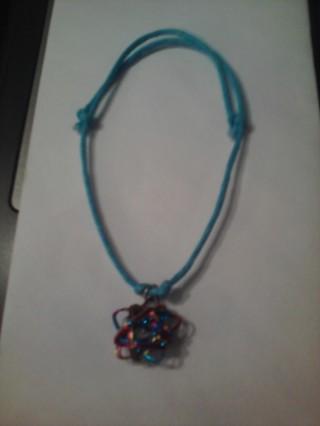 Wire Wrapped Star Bracelet