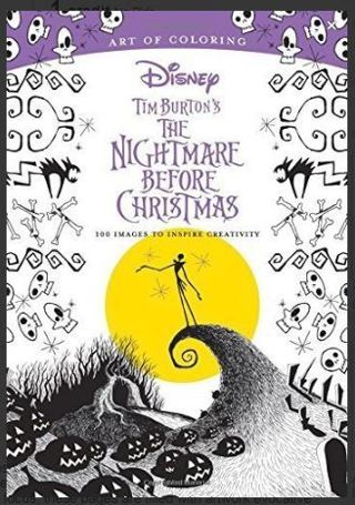 Free: NEW Tim Burton\'s The Nightmare Before Christmas Coloring Book ...