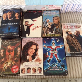 7 More Excellent VHS tapes for watching and/or collecting !
