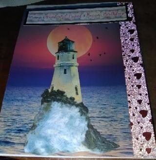 Wishing A Wonderful Friend A Happy Birthday- Design Blank Note Card
