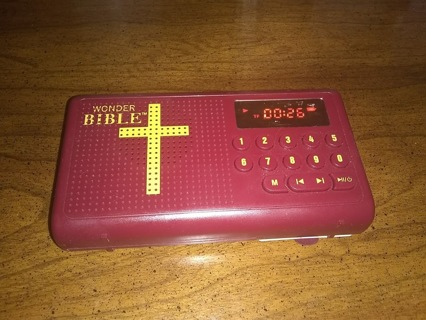 wonder bible audio bible