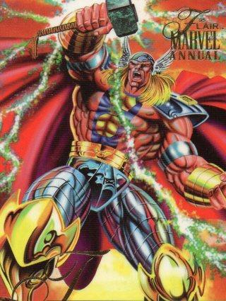 1995 Marvel Comic Trade Card: Thor