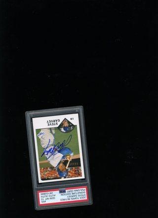 2003 Topps Retired Signature #55 ( DNA Cert.) Steve Garvey - PSA 10 - Pop. 1