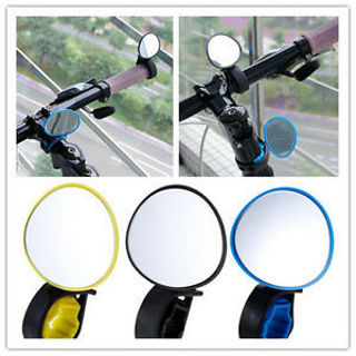 Cycling Flexible Outdoor Rearview Bicycle Accessories Handlebar Mirror Safety