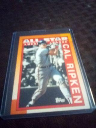 1990 Topps #388 Cal Ripken. AS