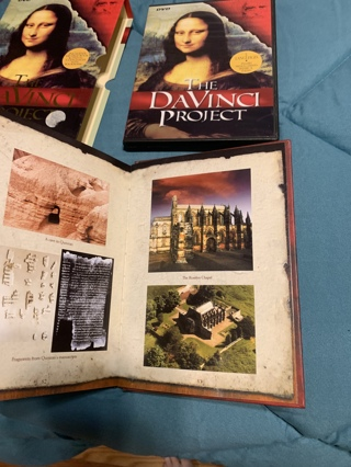 DaVinci Project book & dvd