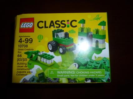 New Lego Classic Green Creativity Box 10708