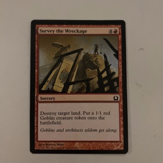 MTG - survey the wreckage