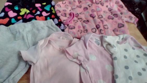 Infant Girls Size (Newborn) Clothing: EUC