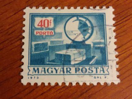 Used Magyar Posta Stamp!!