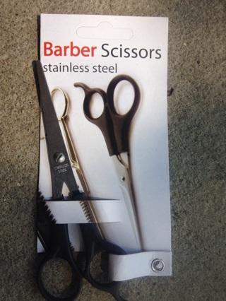 Barber Scissors stainless steel