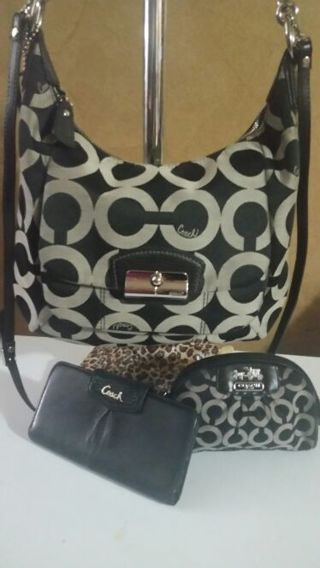 Coach #19331crossbody, and wallet