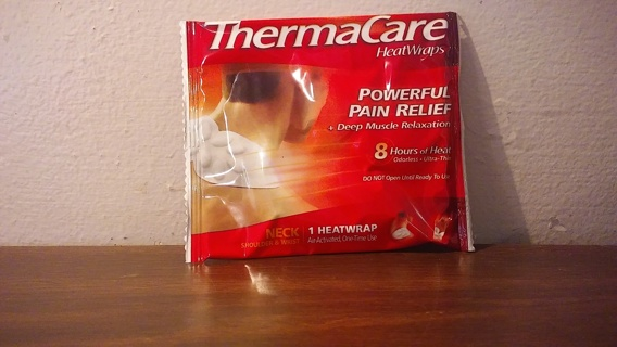 Single ThermaCare Heat Wrap New Not Opened