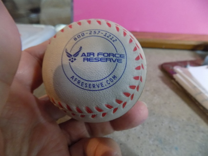 Air Force ad on Stress relief baseball