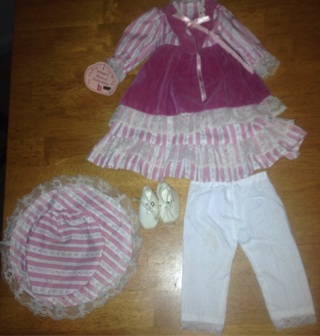 Porcelain Doll outfit