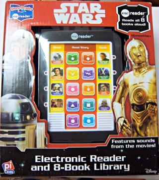 NEW Star Wars Saga - Me Reader Electronic Reader and 8-Book Library FREE SHIPPING