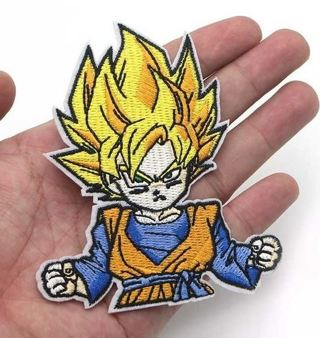 embroidered badge applique character accessories Dragon Ball Z Goten Iron On Patch anime manga