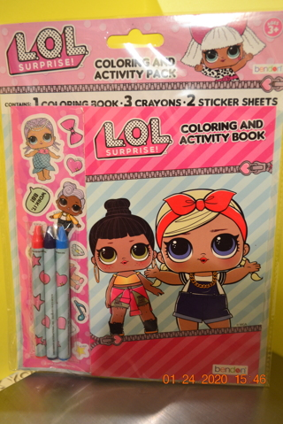 ****LOL SURPRISE! COLORING AND ACTIVITY PACK***FREE SHIPPING