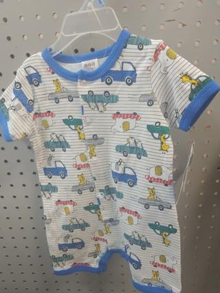 NWT! C J P Baby Boys Onesie Size: 3-6mths 60% Cotton 40% polyester