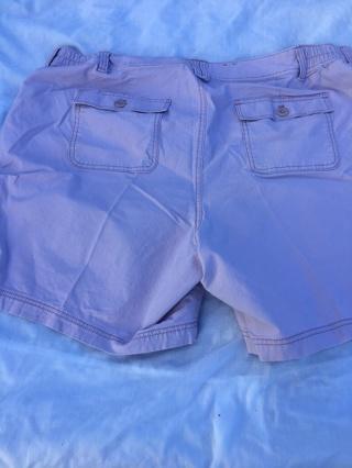 Eddie Bauer Ripstop Shorts size 20 lavender