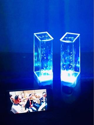 Water works speakers