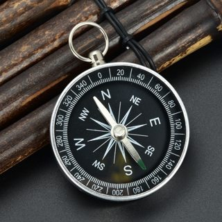 Mini Aluminum Keyring Navigator Emergency Outdoor Camping Hiking Pocket Compass
